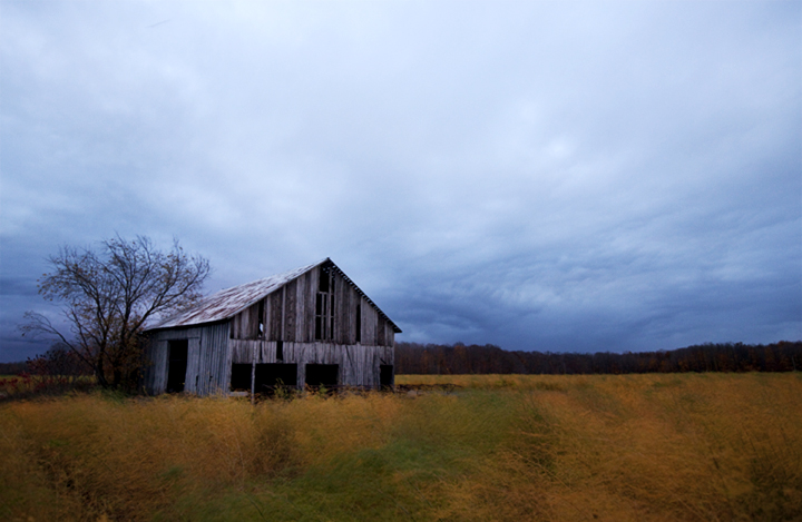 barn, old, wood, color, evening, sunset, journalism, fall, mid west, michigan, weather, blue sky, time,